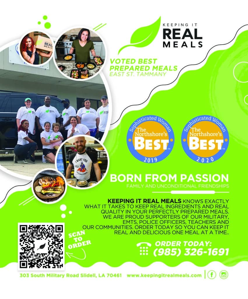 Keeping It Real Meals Magazine Ad 2021