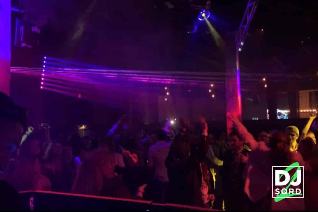 DJ SQRD Nightclub Performance