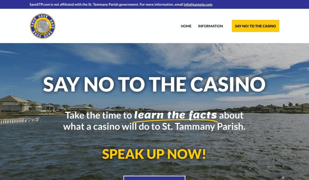 BaseLynk SaveSTP Homepage