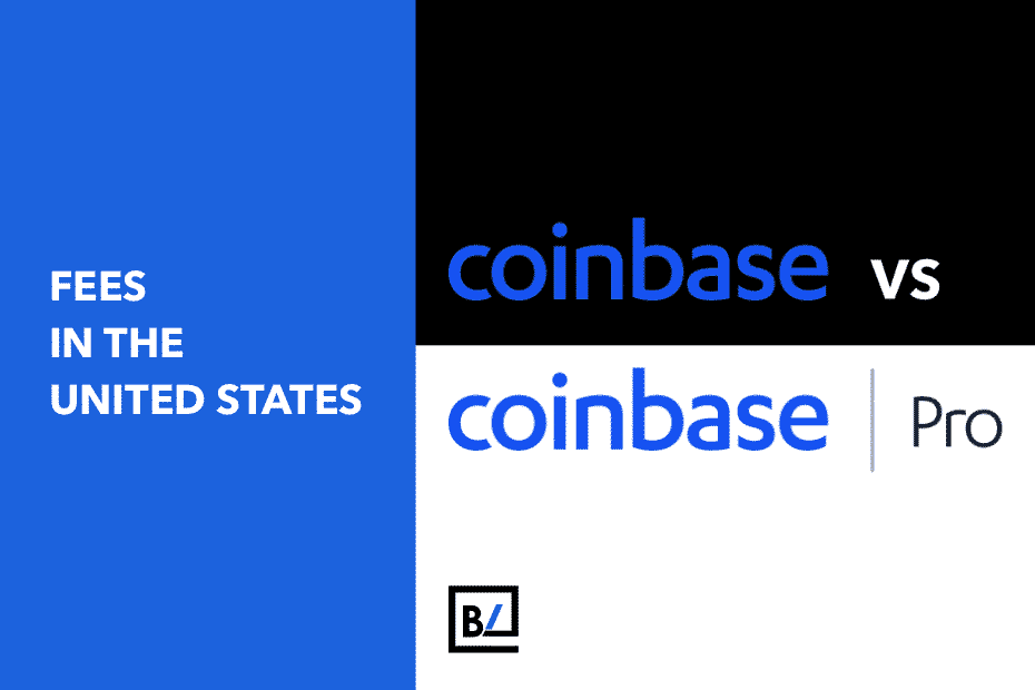 Coinbase vs. Coinbase Pro Fees in the United States